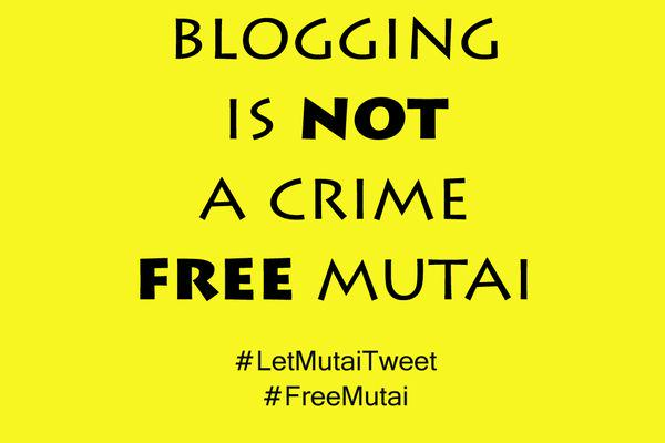 Blogging is not a crime, Free Mutai