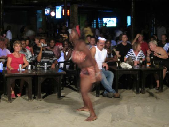 Dancer in Mtwapa Club