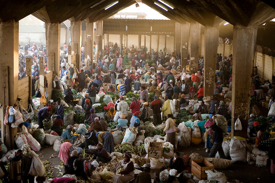 Nairobi's  Wakulima market is the biggest market in East Africa, attracting thousands of traders from the region every day.