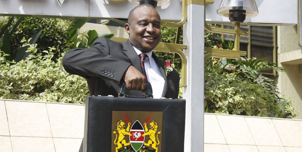 Treasury Cabinet Secretary Henry Rotich PHOTO TREASURY