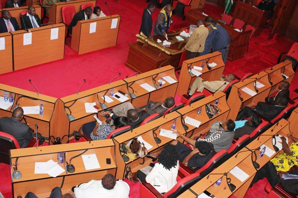 Makueni County Assembly.The assembly passed the 2015/2016 budget. Photo:Communication Unit