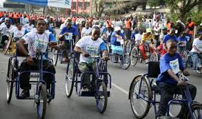 Peiople Living With Disabilities Photo:Google