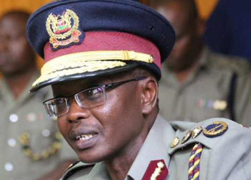Inspector General of Police, Joseph Boinnet (www.citizen.co.ke)