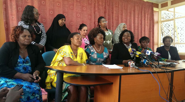 Some of the women legislators in Kenya. Photo courtesy; www.capitalfm.co.ke