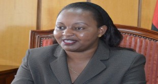Devolution CS Anne Waiguru. She has issued a statement saying that the push for her to resign is an attack on her person and not on corruption. [Photo: standardmedia.co.ke]