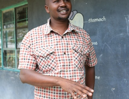 Jacob Losikany is the Nkoilalel Primary School headteacher.