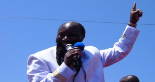 Prophet David Owuor. He is in Kisumu where his spending has been the talk of town. [Photo: shamblerambles.wordpress]