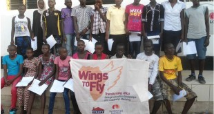 Some of the Wings To Fly beneficiaries from Turkana. This year 2,000 students will benefit. [Photo: turkanatimes.co.ke]