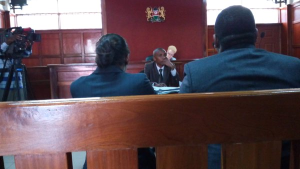 Judge Mumbi Ngugi delivering the ruling