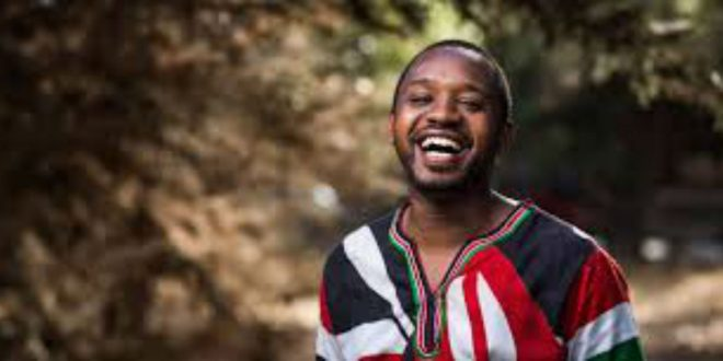Boniface Mwangi. Photo courtesy of hashtagsquare.co.ke